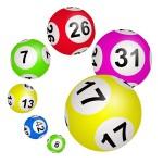 bingo ballen met nummers