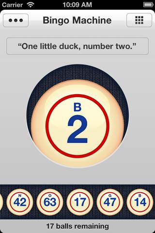 Bingo Getallen Trekken