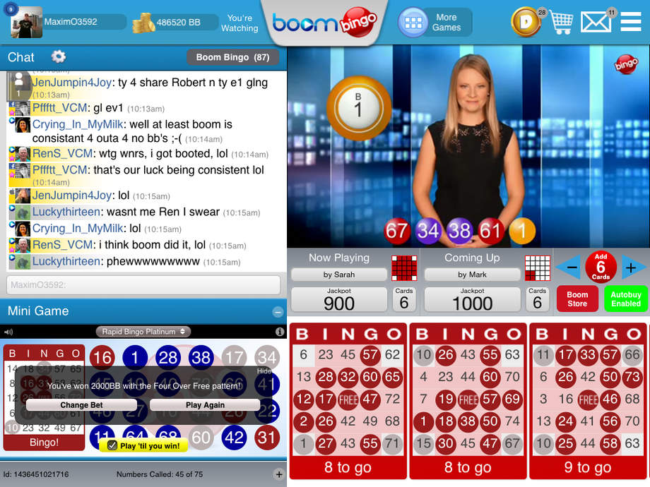 Boom Bingo review