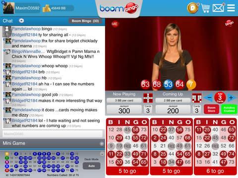 Boom Bingo voor de iPhone