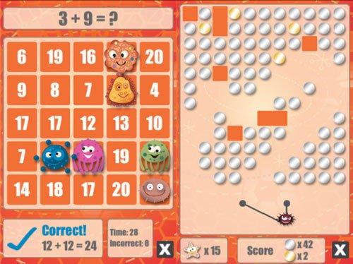 Math Bingo is een leuke reken app