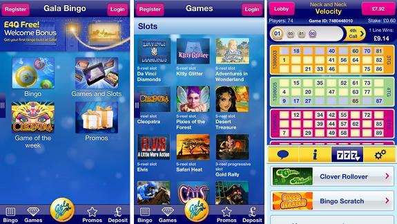 Gala Bingo app downloaden