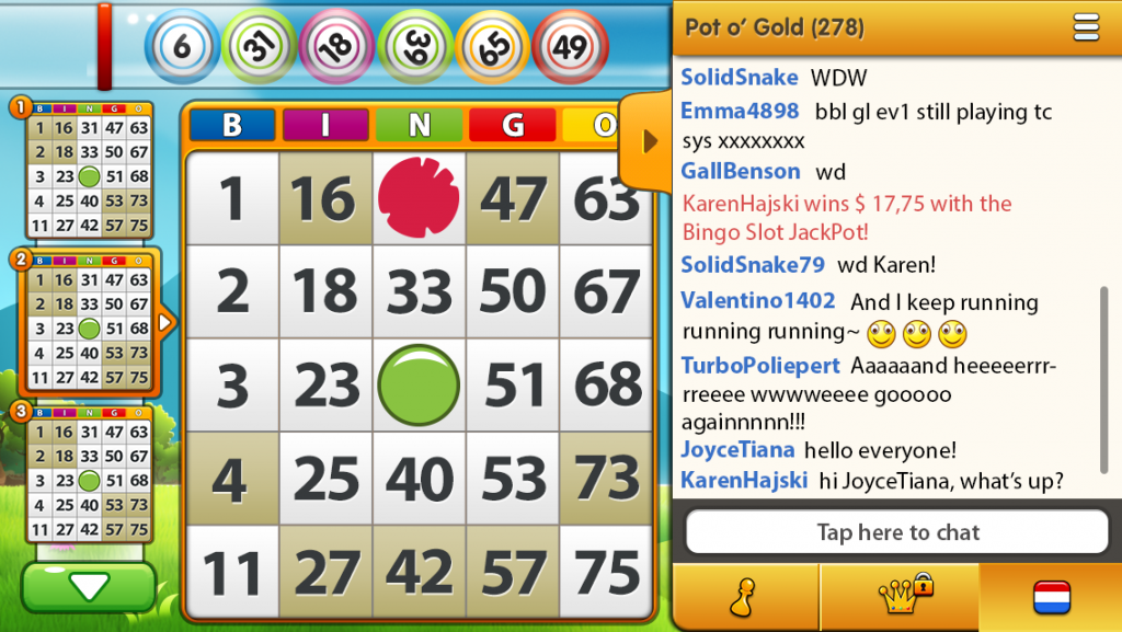Spelpunt bingo app